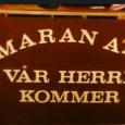 … at på Maran Atas Youtube-kanal kan du finne masse opptak fra årets landsstevne og fra tidligere år. Gå inn på www.youtube.com/maranatanorgefor å finne den!! Her kan du også se...