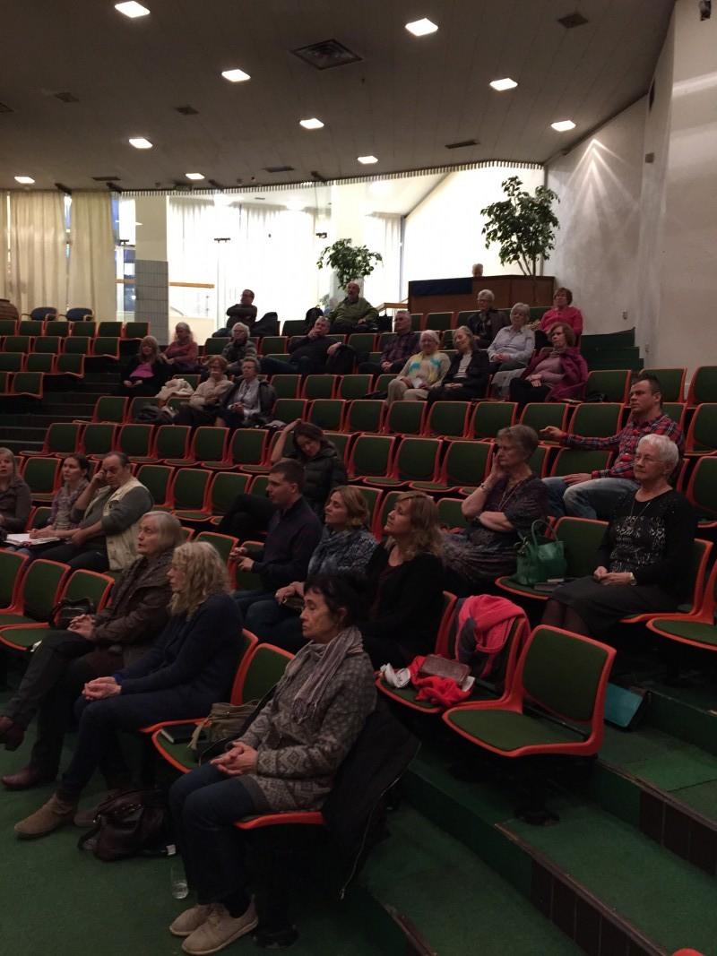 Bra besøk i Oslo på møtet 20.03.16