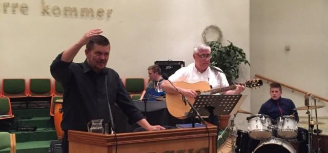 Etter at Maran Ata Oslo engasjerte evangelist Haakon Martinsen har ting begynt å skje. Det var vekkelsesmøter både den 13. og 20.mars. Onsdag den 16. og fredag den 18. var...